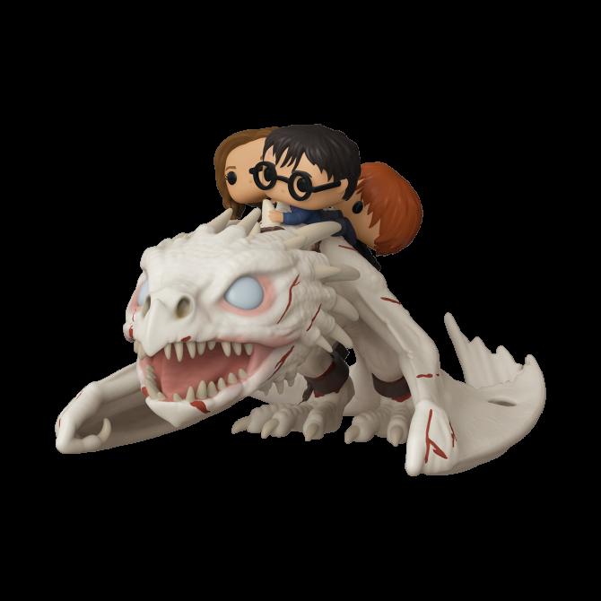 Harry, Hermione & Ron riding Gringotts Dragon - Funko Pop! Rides - Harry Potter