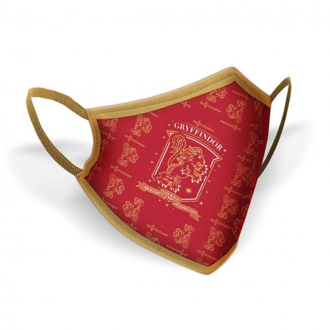 Gryffindor Crest Face Mask / Griffoendor Logo Mondkapje - Harry Potter