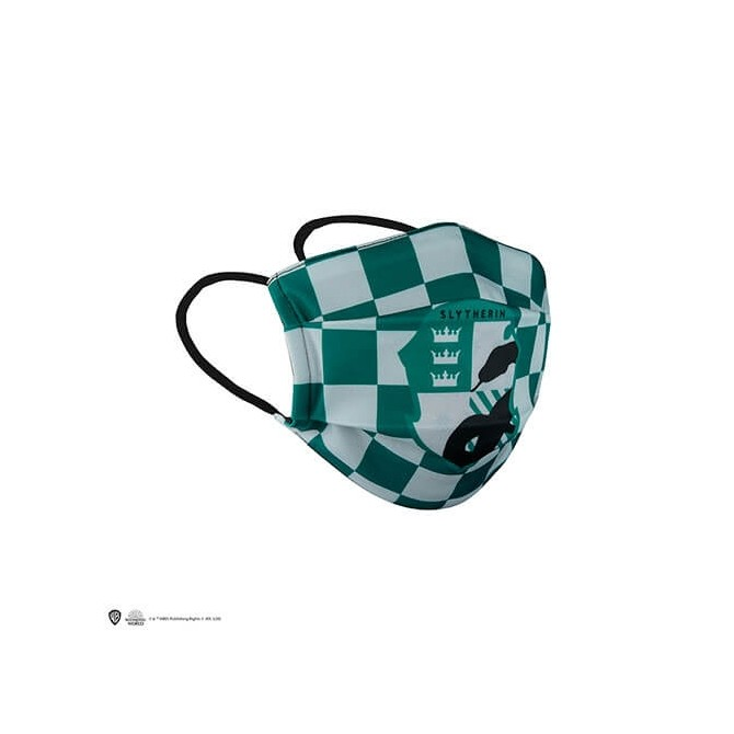 Slytherin Face Mask / Zwadderich Mondkapje - Harry Potter