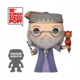 Funko Pop! Harry Potter - Dumbledore with Fawkes 10 inch