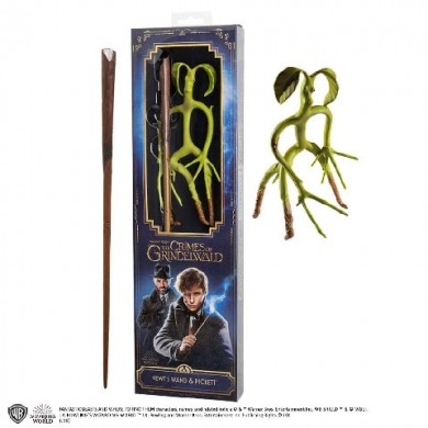 Fantastic Beasts: The Crimes of Grindelwald - Newt Scamander's Wand & Pickett