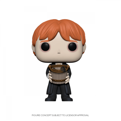Funko Pop! Movies: Harry Potter - Ron Puking Slugs with Bucket