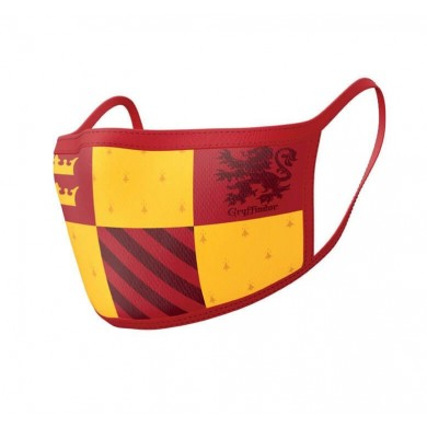 Gryffindor Face Mask Cover / Griffoendor Mondkapje 2-pack - Harry Potter