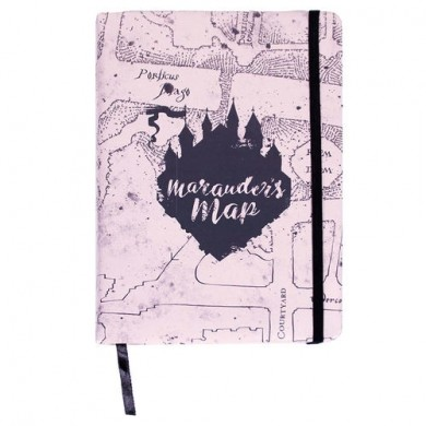 Harry Potter - Marauders Map premium A5 notebook