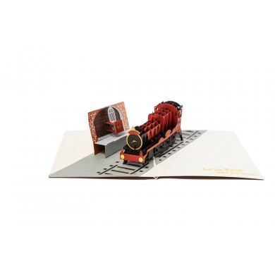 Harry Potter - Hogwarts Express 3D Pop-Up Greeting Card