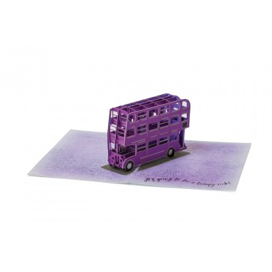 Harry Potter - Knight Bus 3D Pop-Up Greeting Card