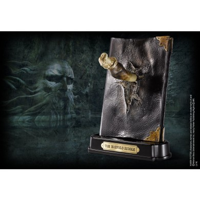 Harry Potter - Basilisk Fang and Tom Riddle Diary Sculpture
