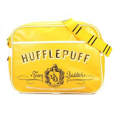 Harry Potter: Hufflepuff Crest Messenger Bag
