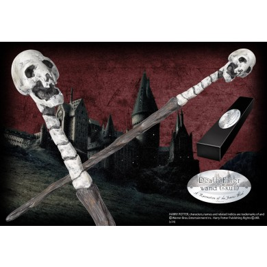 Harry Potter - Death Eater (skull) Wand