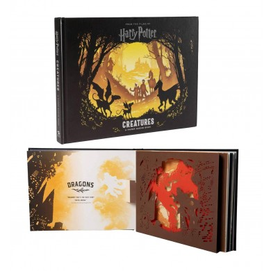 Harry Potter: 3D Pop-Up Book Creatures