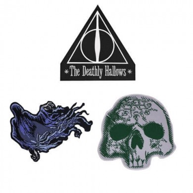 Harry Potter - Deathly Hallows Deluxe Patches Set